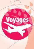 Visuel voyage agenda