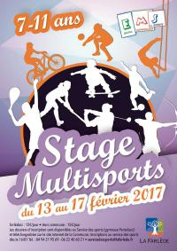 affiche stage multisports février 2017