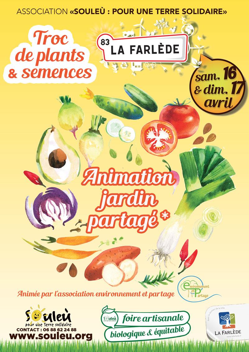 Foire bio 2016 animation jardins partag s la farl de for Jardins ouverts 2016