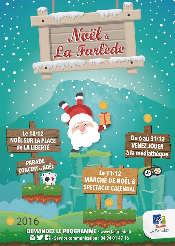 Affiche Noel 2016