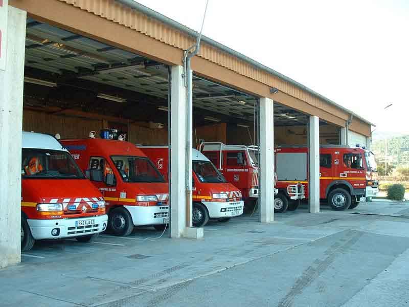 image caserne des pompiers